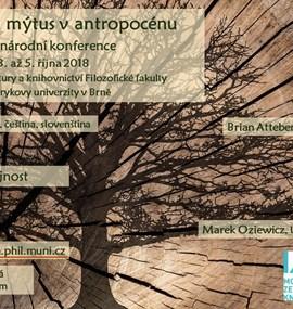 Fantasy and Myth in the Anthropocene / Fantastika a mýtus v antropocénu
