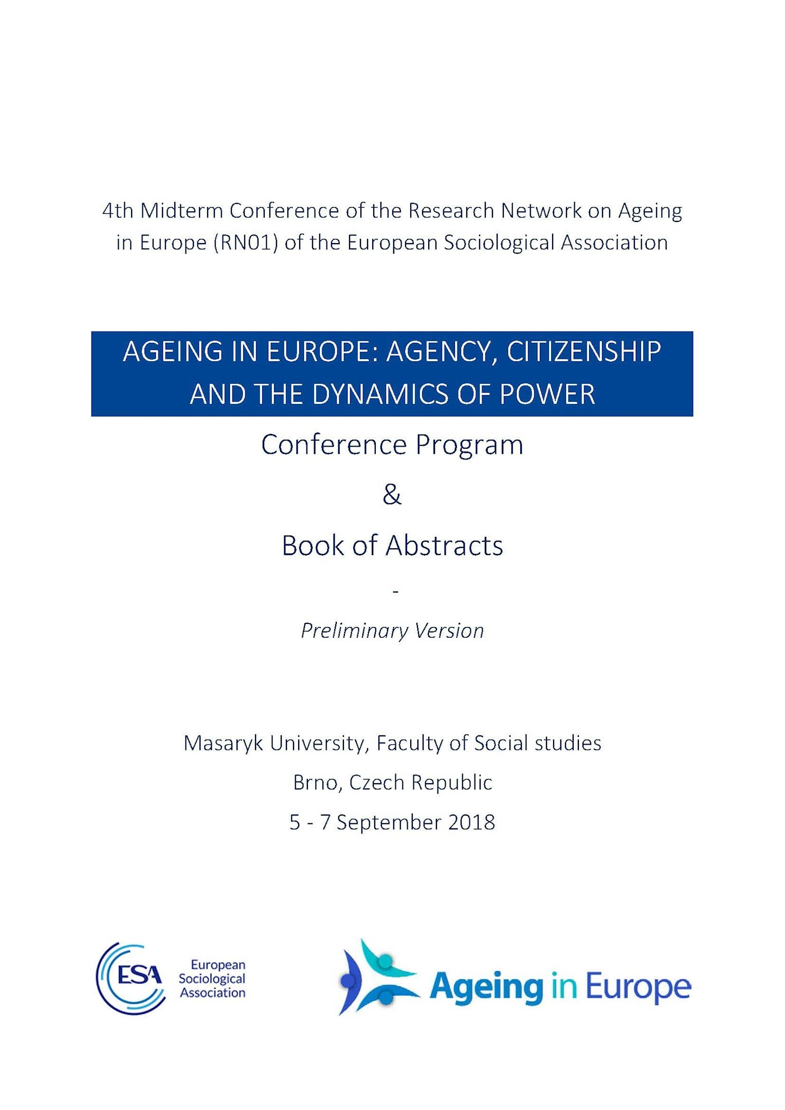Conference Program & Book of Abstracts