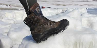 Známku Testováno v Antarktidě získal první výrobek. Obstály boty firmy Prabos