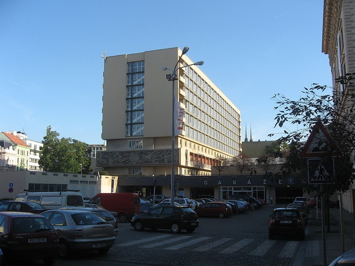 Brno, Hotel International (author: Dezidor, from Wikimedia Commons)