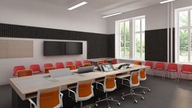 Po rekonstrukci přibudou v učebnách počítače i obrazovky. Foto: archiv KMSŽ