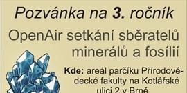 Setkání sběratelů minerálů a fosílií