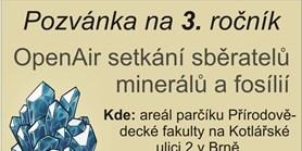 Setkání sběratelů minerálů afosílií