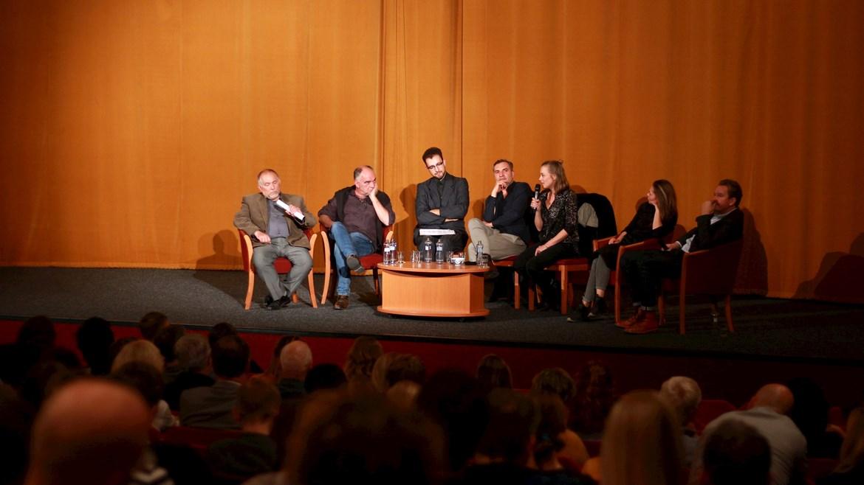 Debata s tvůrci po předpremiéře filmu Toman, 2.10.2018