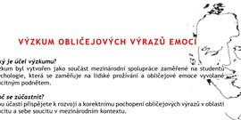 Výzkum emocí: Fakulta sociálnych a  ekonomických vied UK, Bratislava
