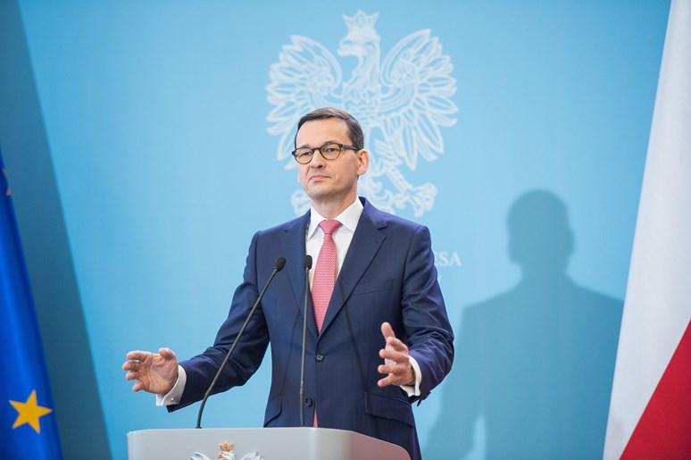 Foto: Polský premiér Mateusz Morawiecki, W. Kompała, Flickr, Public Domain Mark 1.0