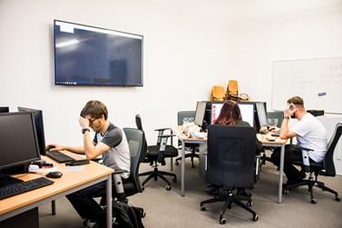 Zrenovované místnosti jsou vybavené moderní technikou. Foto: Tomáš Hrivňák