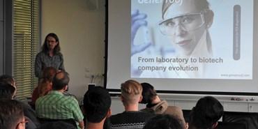 Seminar on biotech startups had a great response