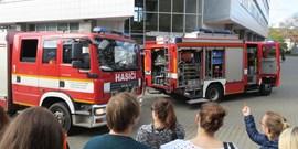 Cvičný požární poplach na fakultě