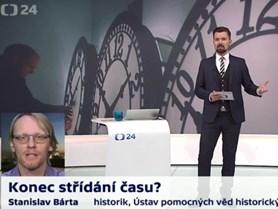 Stanislav Bárta na ČT24