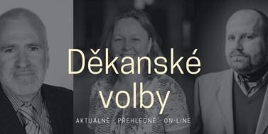 VOLBY ŽIVĚ: Děkanské volby vyhrál Martin Škop. Sledovali jsme pro vás dění v online reportáži