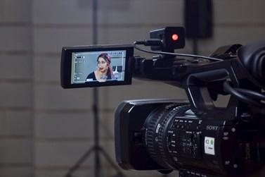 Televize Seznam na fakultě natočila díl pořadu V centru. Foto: Lenka Brothánková