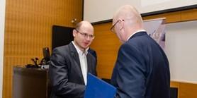Ocenění pro našeho absolventa dr. Marka Lolloka