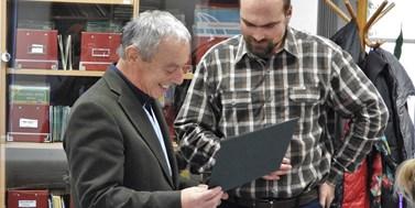Firma převzala certifikát a představila další výrobek k testování v Antarktidě