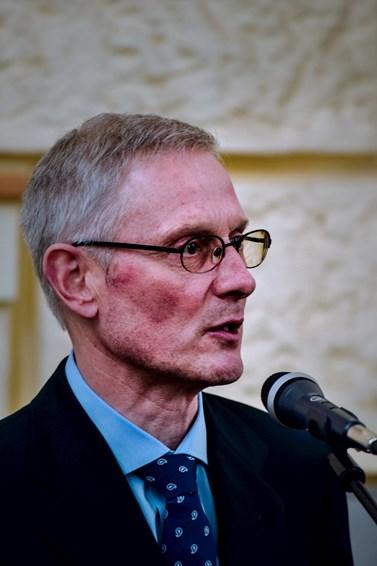 Profesor Uwe Backes se zabývá pravicovým i levicovým extremismem. Foto: Lenka Brothánková