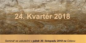 Seminář Kvartér 2018