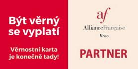 Věrnostní karta Alliance Française Brno
