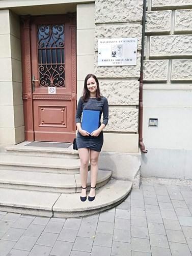 Dominika Sladká napsala bakalářskou práci na téma vícegeneračního soužití rodin. Foto: Archiv Dominiky Sladké