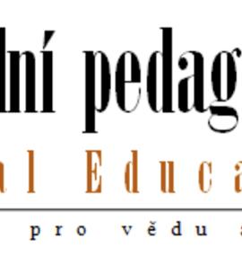 časopis Sociální pedagogika