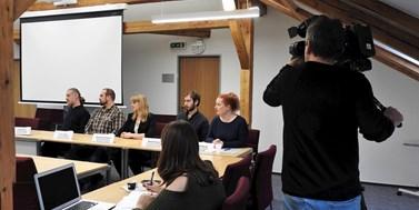 Polárníci představili plány na tiskové konferenci