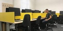 Online přehled obsazenosti PC studoven zlepšuje komfort uživatelů