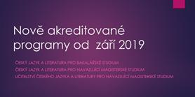 Prezentace ke dni otevřených dveří 2019