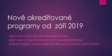 Prezentace ke dni otevřených dveří FF MU 2019