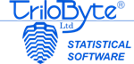 TriloByte Statistical Software
