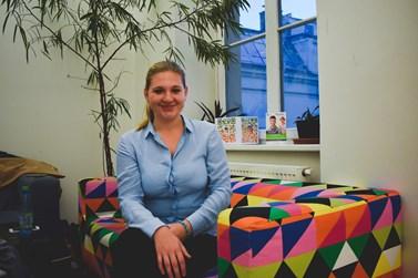 Kateřina Burianová pracuje s pacienty na na Psychiatrické klinice vČernovicích. Foto: Eliška Podzemná