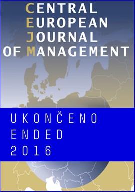 Central European Journal of Management