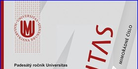 Universitas -revue Masarykovy univerzity