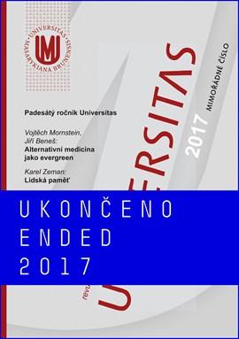 Universitas - revue Masarykovy univerzity