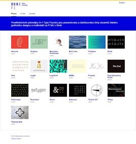 Type Foundry – Fakulta informatiky MU