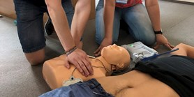First-aid simulation course
