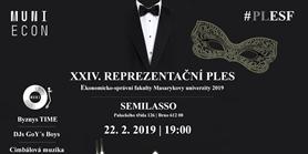 24. Reprezentační ples ESF MU