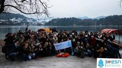 Výlet s ESN Rijeka k jezeru Bled. Foto: ESN Rijeka