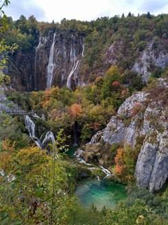 Chorvatsko nabízí spoustu krásných míst. Plitvická jezera. Foto: archiv autorky