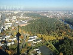 Pohled z vysílací věže ve Vilniusu. Foto: archiv autora