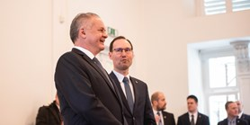 Fotoreportáž: Prezident Andrej Kiska debatoval se studenty