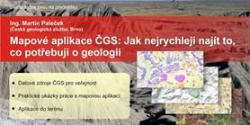 Mapové aplikace ČGS: Jak nejrychleji najít to, co potřebuji v geologii