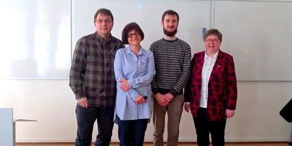 Návštívila nás prof. Maria Sibinska z Gdaňské univerzity