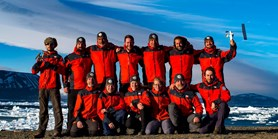 Members of polar expeditions are coming home