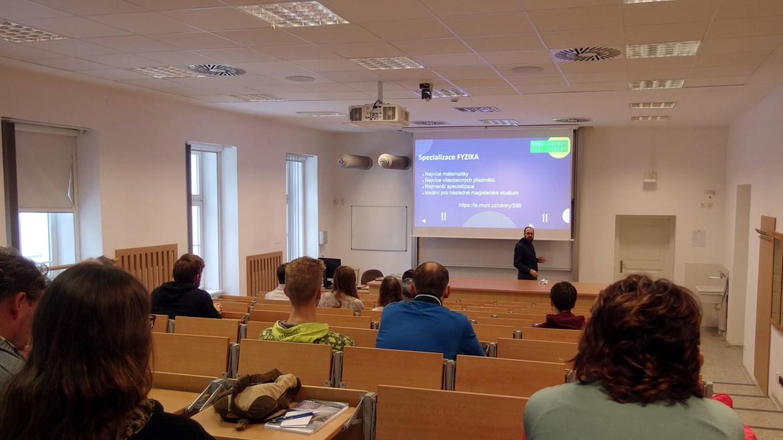 Prezentace studijních oborů a specializací