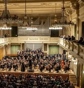 Koncert Symfonického orchestru MUNI ke 40tinám