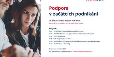 CzechInvest podpoří začátky podnikání