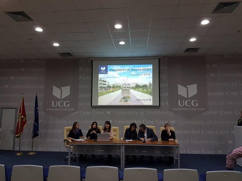 Diskuzní panel o kvalitě ve vysokém školství. Foto Damir Solak