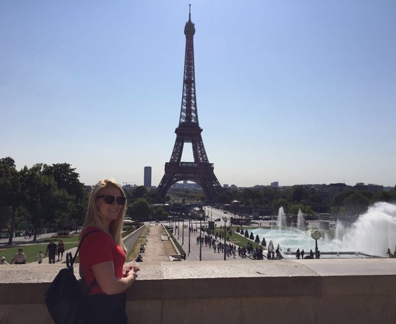 Stáž na českém velvyslanectví v Paříži si Čáslavová užila, diplomacii by ale v budoucnu dělat nechtěla. Foto: archiv Veroniky Čáslavové