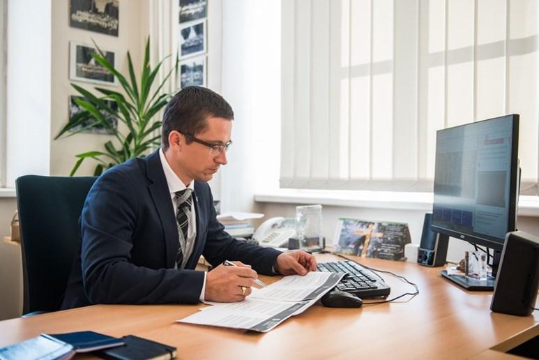 Pro funkci děkana je podle Balíka výhodné mít zkušenosti s různými univerzitními orgány. Foto: Tomáš Hrivňák