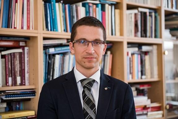 Stanislav Balík má své první kroky ve funkci děkana důkladně promyšlené. Foto: Tomáš Hrivňák