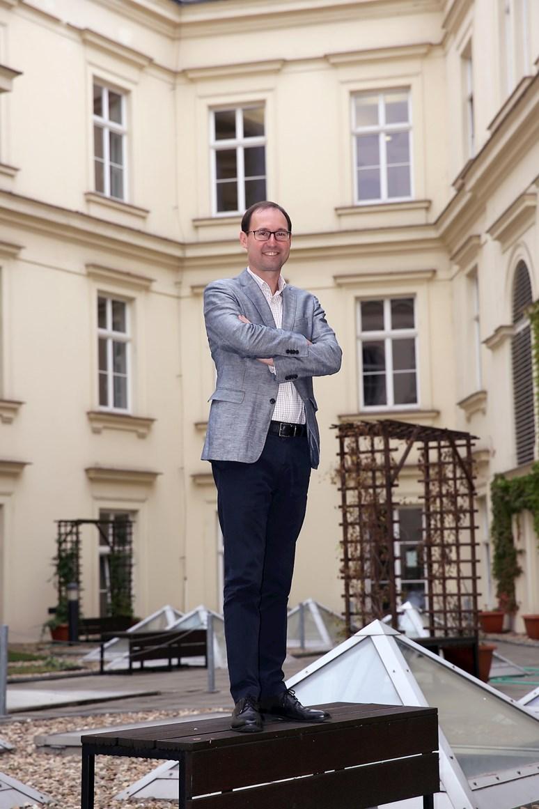Podle Břetislava Dančáka by měl být nový děkan hlavně leader. Foto:JiříSalikSláma